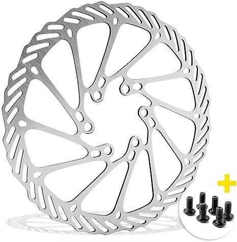 Disco de freno de bicicleta de 160 mm con 6 agujeros, compatible ...