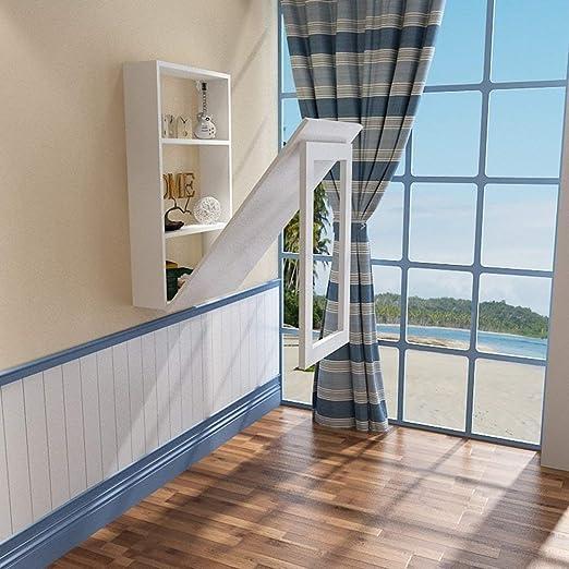 Amazon.com: Nwn Mesa de pared plegable para espacios ...