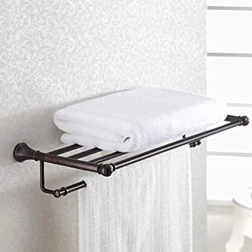 TKFR Toallero de baño Doble - Rack de baño de Acero ...