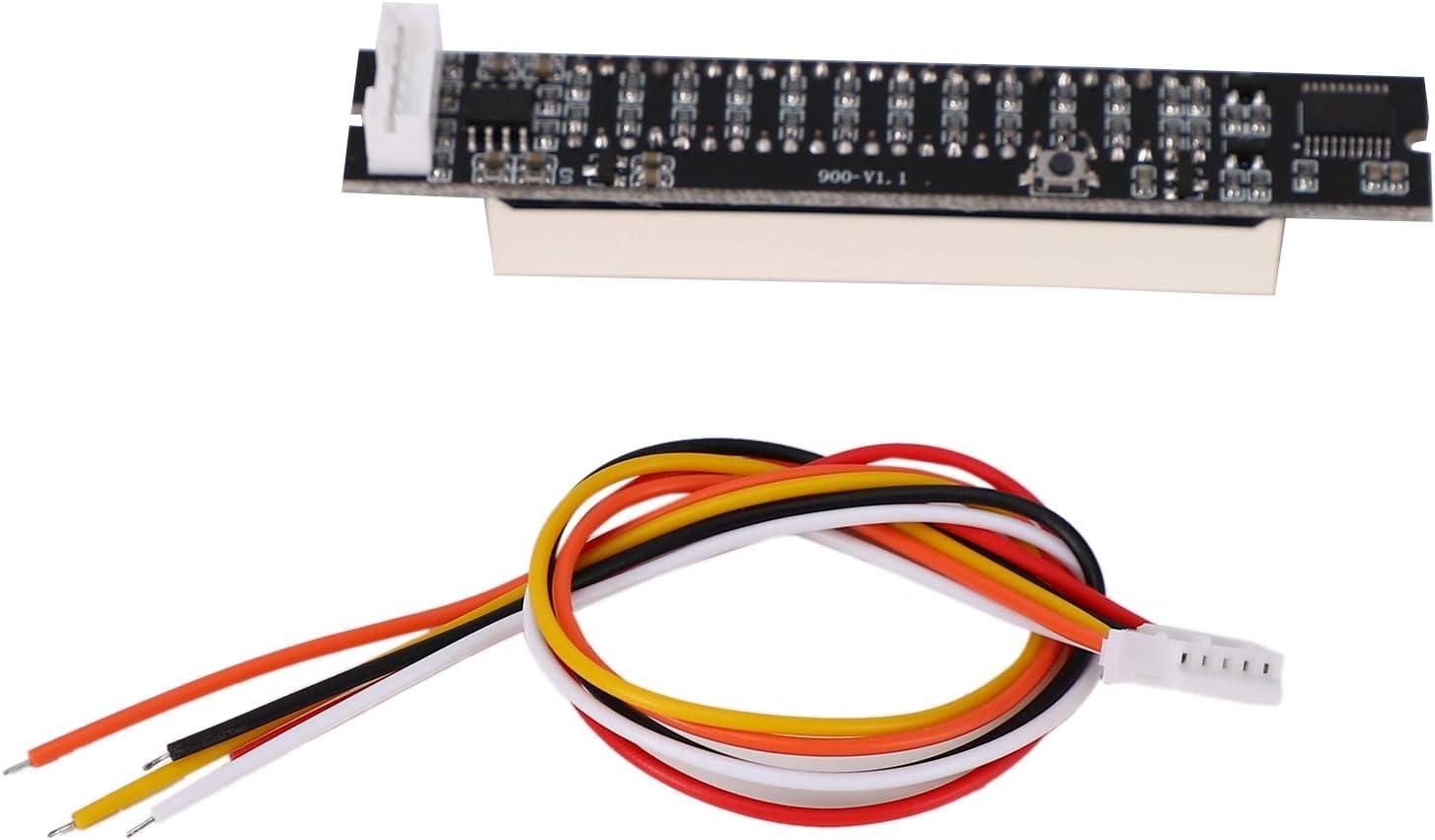 Dasorende Dual 12 Level Indicator VU Meter Stereo Verst?Rker Platine Einstellbare Licht Geschwindigkeit Platine