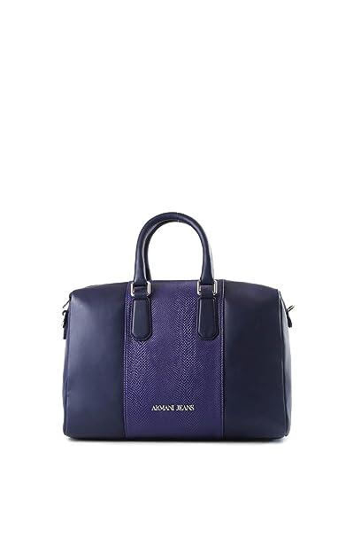60c3168977c1 Armani Jeans sac à main femme tonneau blu  Amazon.fr  Chaussures et Sacs