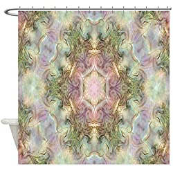 "CafePress - Phosphene #13 - Decorative Fabric Shower Curtain (69""x70"")"