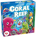 Tactic Games US Coral Reef Board Games (94 Piece), Blue, 9.75'' x 2.42'' x 9.75''