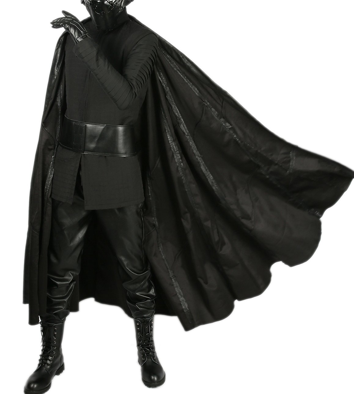 xcoser Kylo Ren Costume Last Jedi SW 8 Cosplay Outfit Adult Full Suit Custom Made XL by xcoser (Image #2)