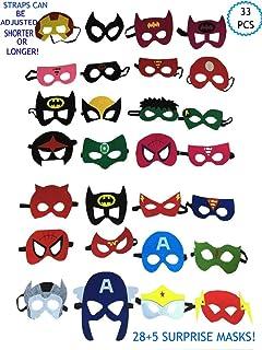 Amazon.com: Máscaras de fieltro para cosplay con diseño de ...