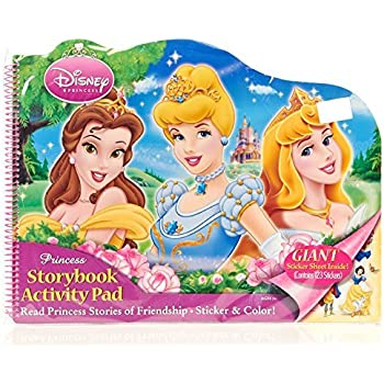 Amazon Com Bendon Disney Princess Large Activity Floor