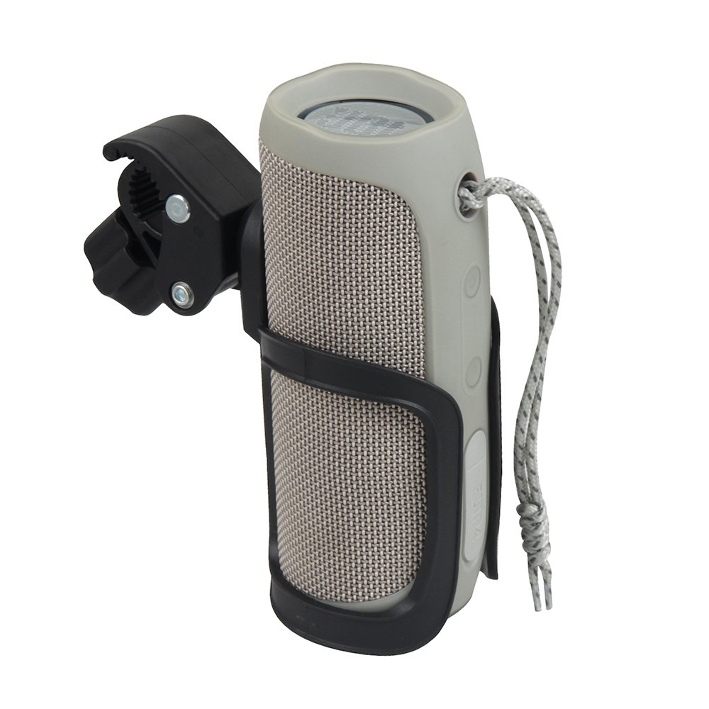 Bicycle Mount Holder with Clamp for JBL Flip 4 / 3 Bluetooth Speaker by Hermitshell