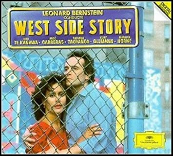 Leonard Bernstein Kiri Te Kanawa Jose Carreras West Side Story 12 Vinyl Music