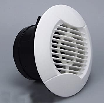 Awesome 75mm Round Wall Air Vent Bull Nose Bathroom Extractor Outlet Grille Louvres  Wall Ceiling Mount Air Vent Cover Outlet Exhaust Grille,Ducted Heater  Aircon ...