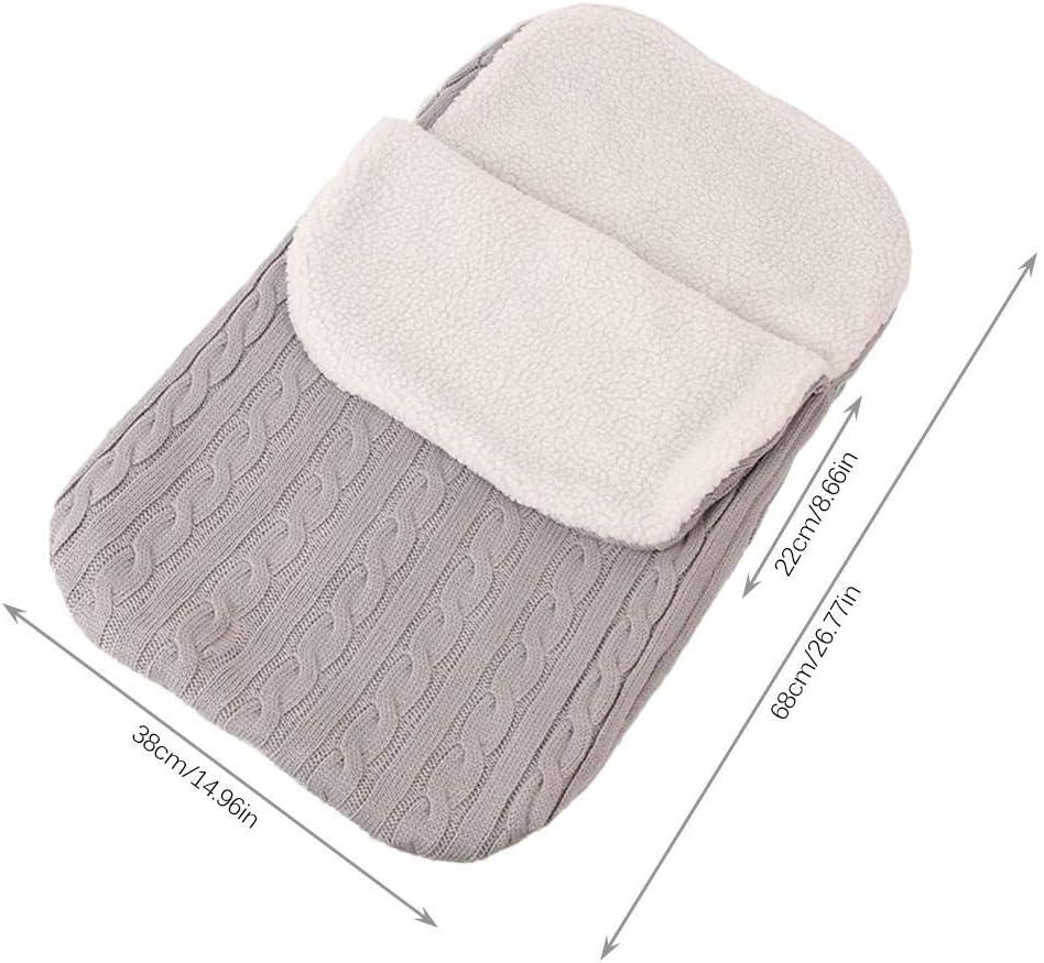 delibett Baby Sleeping Bag Universal Pram Footmuff Warmer Baby Sleeping Bag For Pushchair Car Seat Pram Buggy Stroller Warm Foot Muff