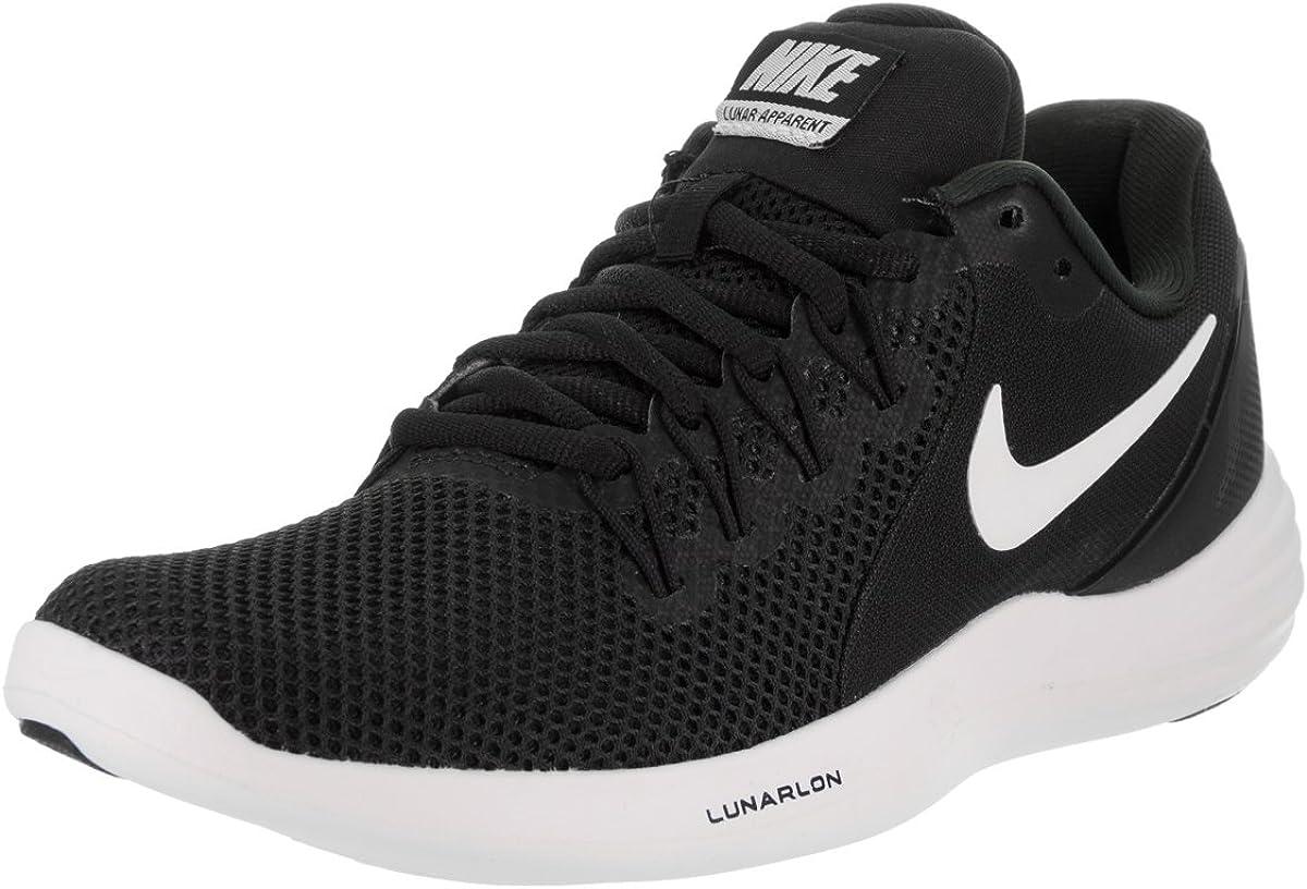 Nike Lunar Apparent Black White Running Womens