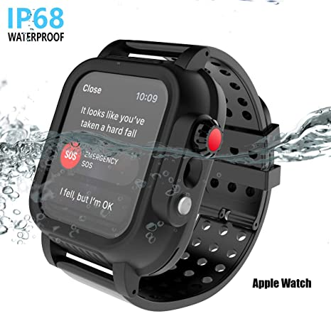 EASYCOB IP68 - Carcasa Impermeable para Apple Watch de la ...