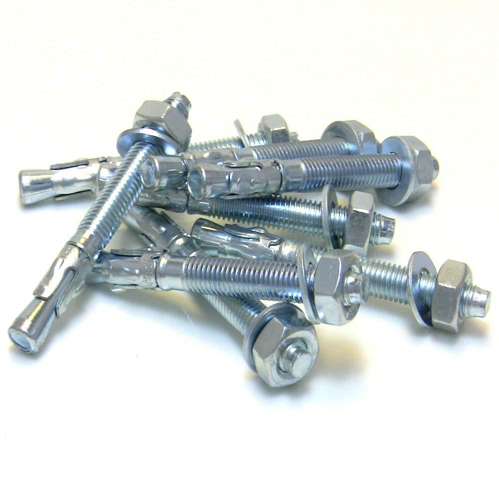 M8 x 70 Schwerlastanker Schwerlastd/übel Keilanker Bolzenanker verzinkt 20 Stk