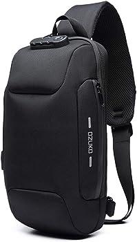 ZUK Anti-Theft Crossbody Sling Backpack
