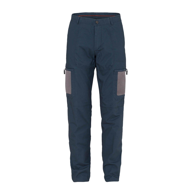 Jeep Man Hose W MESH Taschen J4 W, blau (Dark Denim), 54