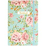 """Ruled Journal/Notebook - Lined Journal with Premium Paper, 5.8"""" X 8.4"""", Hardcover, 144 Pages, Back Pocket, Bookmark…"""