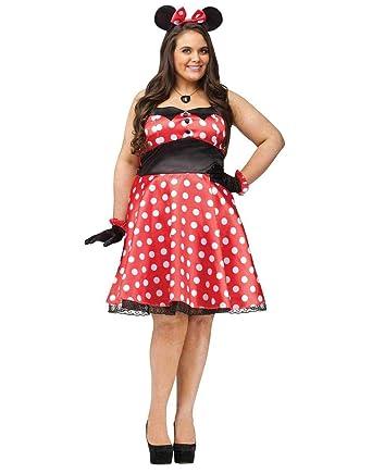 25d641bdf6e05 Amazon.com  Retro Miss Mouse Womens Costume  Clothing