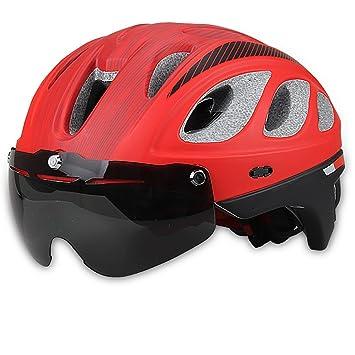 YTBLF Cascos De Bicicleta De Montaña Seguridad Adulto Casco De Bicicleta De Carretera Casco De Equitación