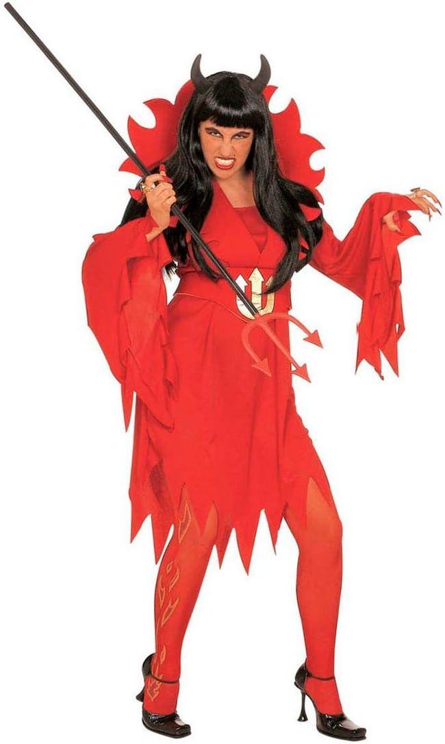 NET TOYS Disfraz de Diablo para Mujer Infierno Vampiro satanás ...