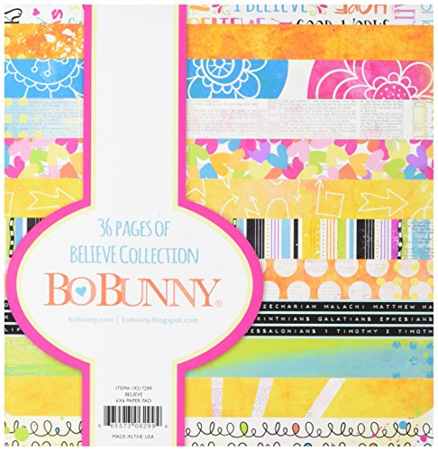 Bo Bunny 19217299 Paper Pad (36 Pack), 6