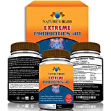 ★ EXTREME Probiotics 40 Billion CFU ★ Better Digestive & Immune System Health ★ Increase Energy & Regular Bowel Movements ★ 60 Capsules All Natural Formula