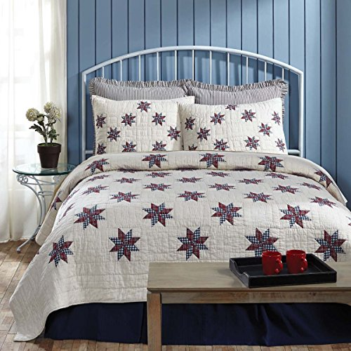 VHC Brands Lincoln 29236 Quilt, Twin