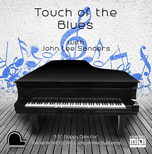 "Touch of the Blues - General Midi Compatible Music on 3.5"" DD 720k Floppy Disk for Player Piano Systems and Digital Pianos"