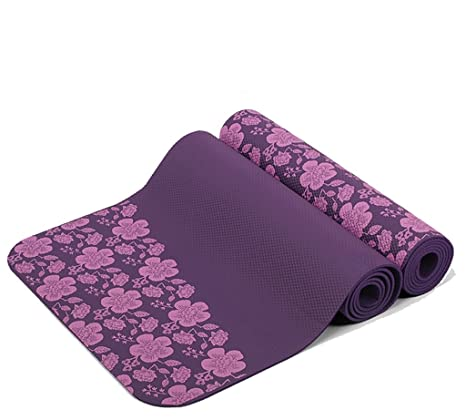FFLYUJDIAN HJHY® Alfombras de Yoga, 8 mm Protección ...