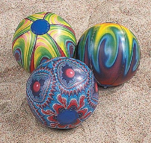Tie-Dyed Beach Balls (1 dz) (Dyed Balls)