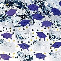 Amscan 368281.106 Confeti, 2 1/2 oz, Púrpura