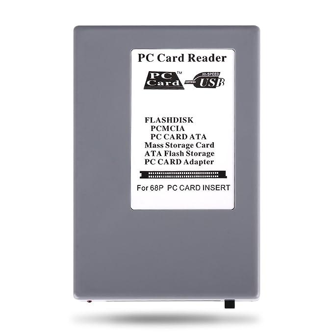 Amazon.com: USB 2.0 PCMCIA PC lector de tarjetas PC ...