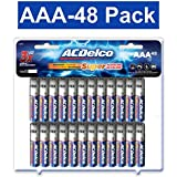 ACDelco AAA Batteries, Triple A Battery Super Alkaline, High Performace, 48 Count Pack