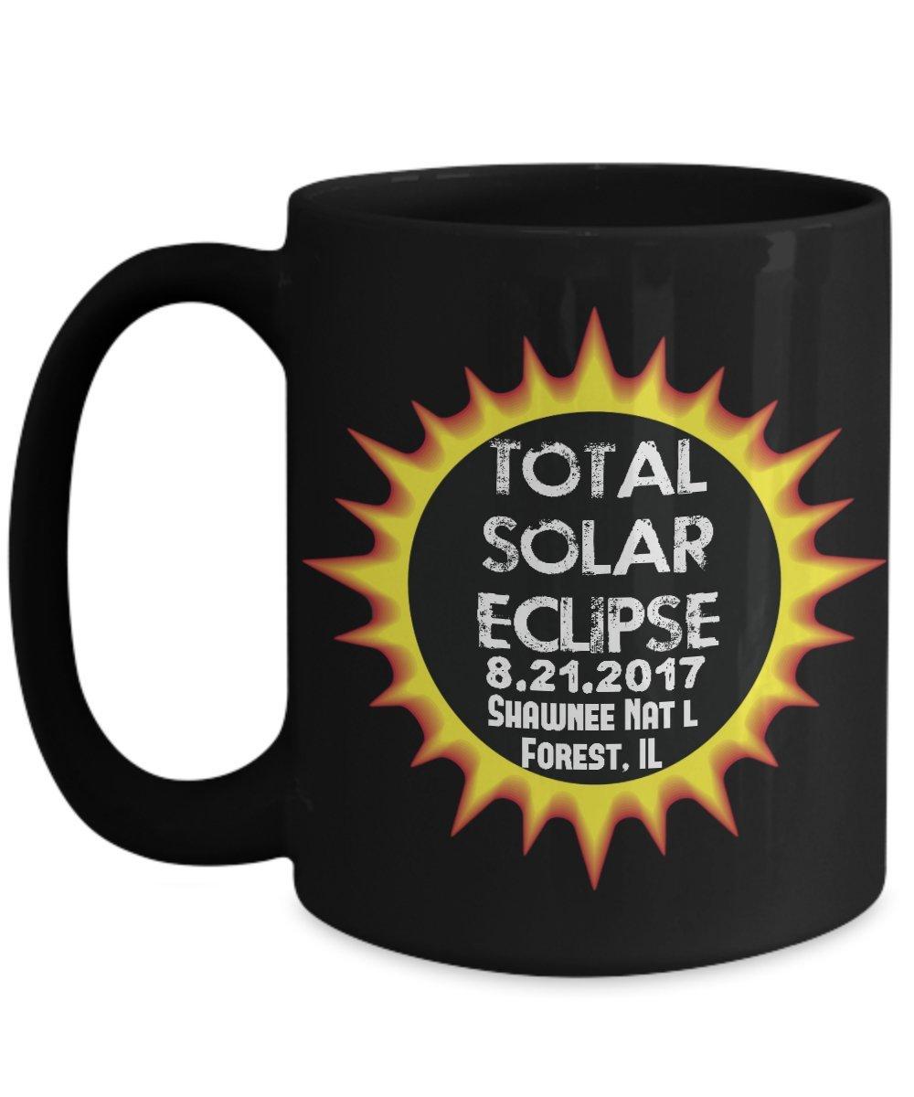 Total Solar Eclipse 2017 Shawnee National Forest, Illinois Astronomy Mug