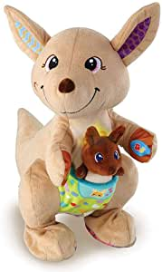 VTech Hop-a-Roo Kangaroo Baby Interactive Toy, Animal Baby Toys for Sensory Play with Music and Sounds, Baby Sensory Toys for Boys & Girls Aged 1, 2, 3 Years Old