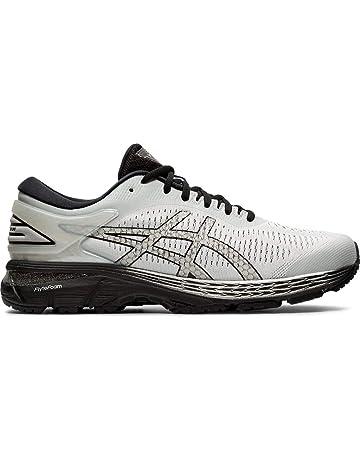 e0dcab30b6 ASICS Men's Gel-Kayano 25 Running Shoes, 10.5M, Glacier Grey/Black