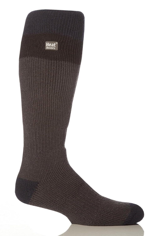 1 Paar Herren Original thermisch Winter Warm Wärme Inhaber Ski Socken 6-11 uk, 39-45 EUR, 7-12 usa Marine / Schwarz / Dunkelgrau