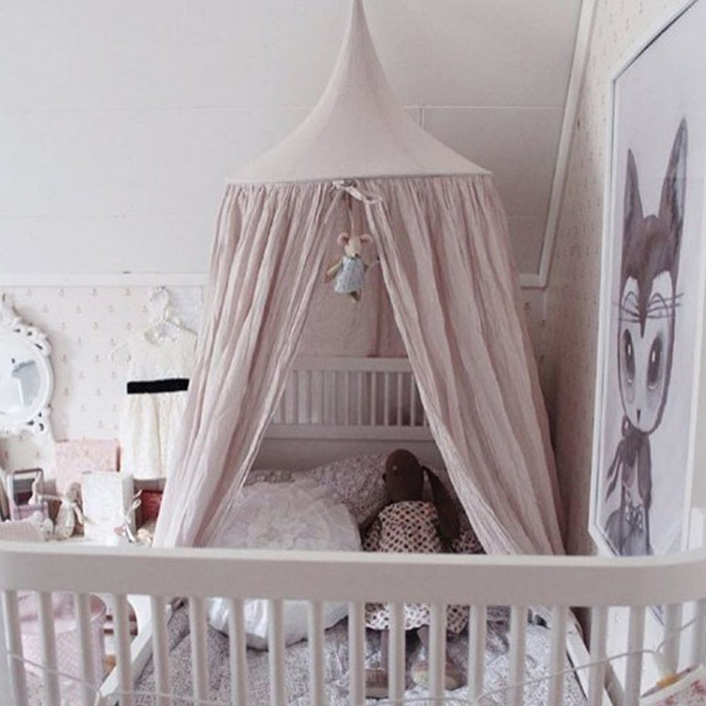 LOVIVER Kids//Babys Princess Bed Canopy Insect NET Boys Girls Reading Play Tents Dark Green
