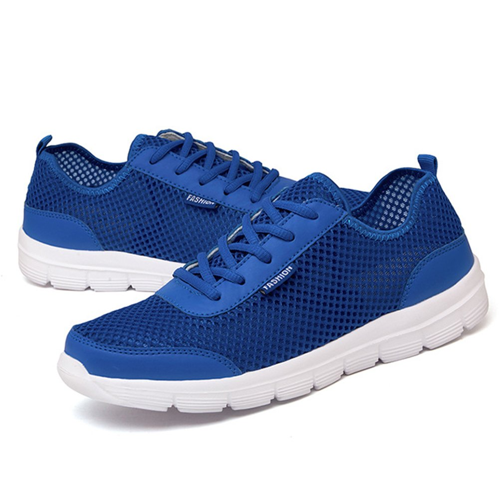 Meolin Men/ Women Breathable Mesh Sneakers Casual Running Shoes Light Damping Sport Shoes,MD outsole + breathable mesh,11 by Meolin
