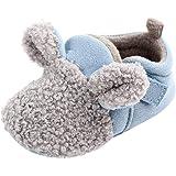 Scarpine Neonato, Honestyi 0~18 Mesi Scarpe Bimbo Ragazze di Cotone Calde e morbide Scarpe da Bambino Antiscivolo Sneakers Casual Moda Autunno Inverno Scarponi per Bambini