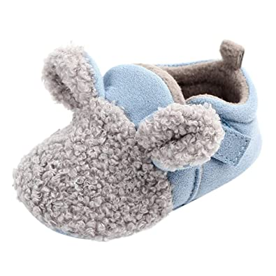 Primeros Pasos para Bebé ,❤️ Amlaiworld Zapatos recién Nacidos de Suela Blanda de Invierno para bebés recién Nacidos Botas Invierno Zapatillas ...