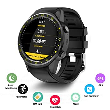 HCWF Sports Smartwatch Phone 1.3 Pulgadas Smart Watch Dual ...