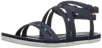 Teva Women's Avalina Crossover Leather Sandal, Navy, ...