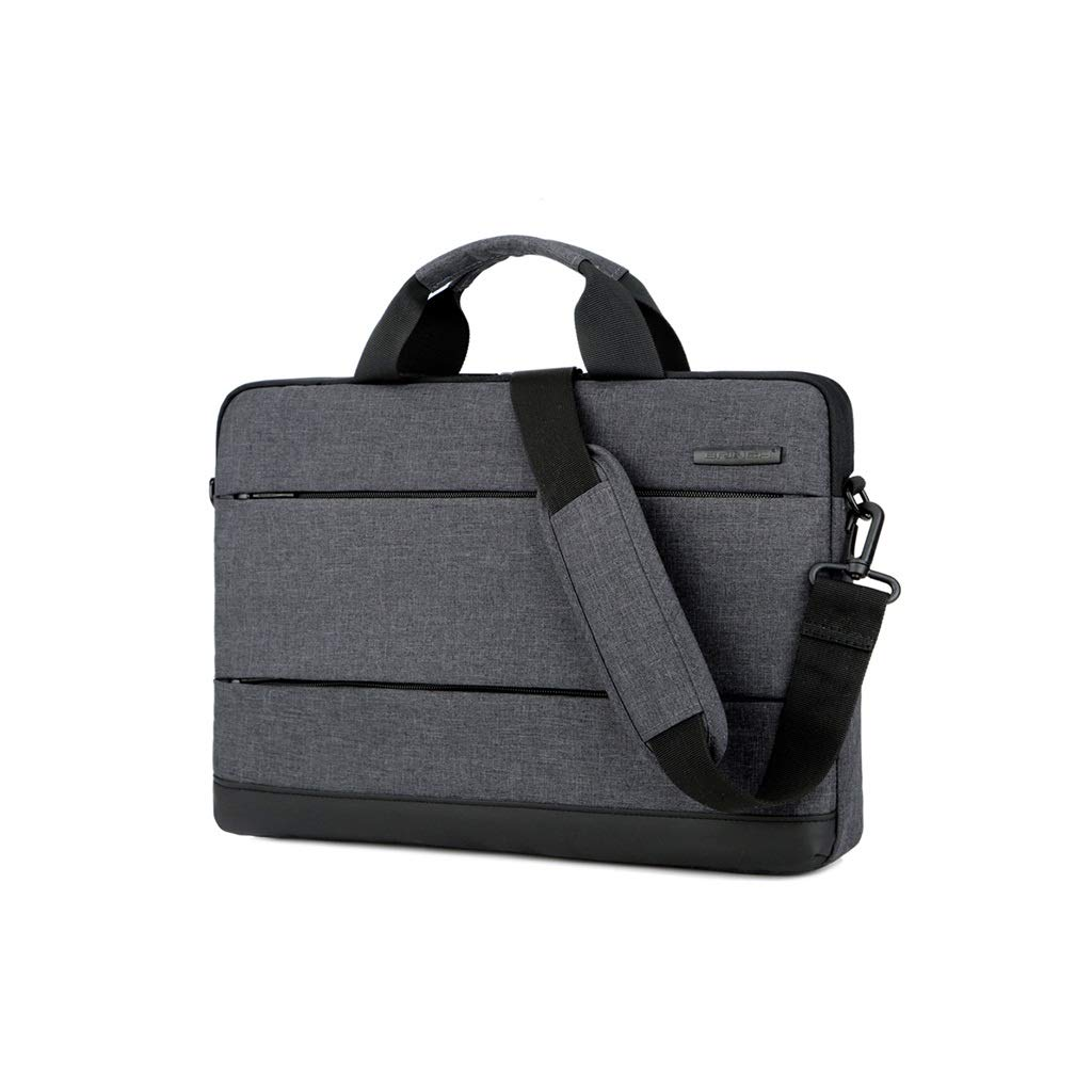 QSJY File Cabinets Laptop Case 13 Inch/15 Inch Handbag Computer Package Single Shoulder Bag (Color : Black, Size : 425(W)×300(H)×40(T) MM) by QSJY File Cabinets