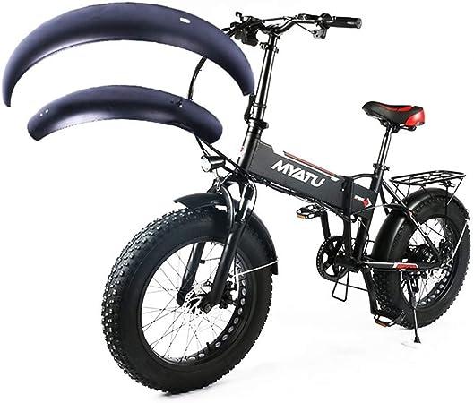 ZHHO 20inch Snowboard Guardabarros Bicicleta Eléctrica E-Bici ...