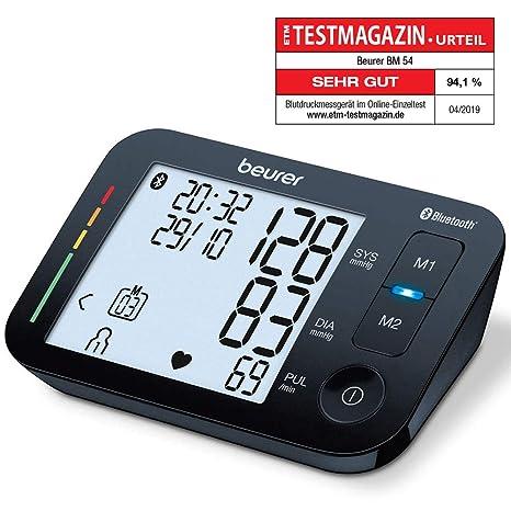 Vendita Prodotti Beurer.Beurer Bm 54 Misuratore Di Pressione Da Braccio Connessione Bluetooth E Display Xl