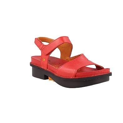 En RougeTaille J'aime 37 Carmin Art Cuir Sandale Femme 1105 iXPkuZ