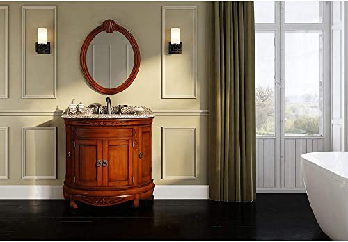 Ove Decors Victoria Bathroom 36-inch Granite Single Vanity
