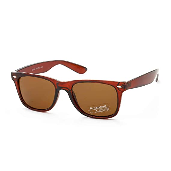 98c139805 Stacle Polarized UV Protected Unisex Wayfarer Sunglasses (STPOL8223 Brown  Frame Brown Lens): Amazon.in: Clothing & Accessories