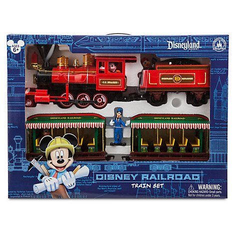 Walt Disney World Resort Railroad Train Set (Disney Christmas Train Parks)