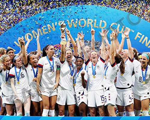 USA Women's Soccer Team USNWT 8x10 Photo 2019 FIFA World Cup Champions Celebration